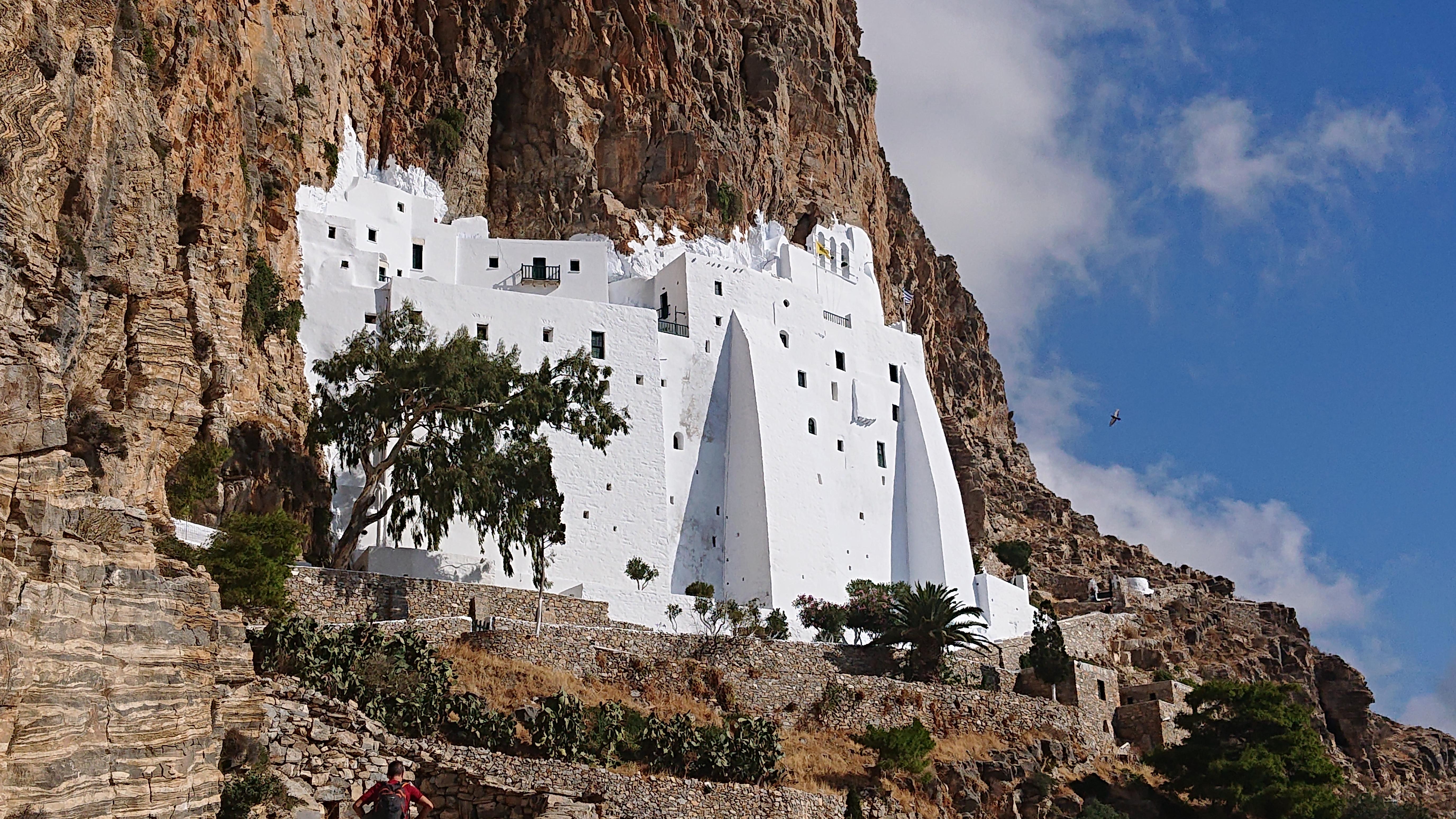 Amorgos, Monastero Chozoviotissa