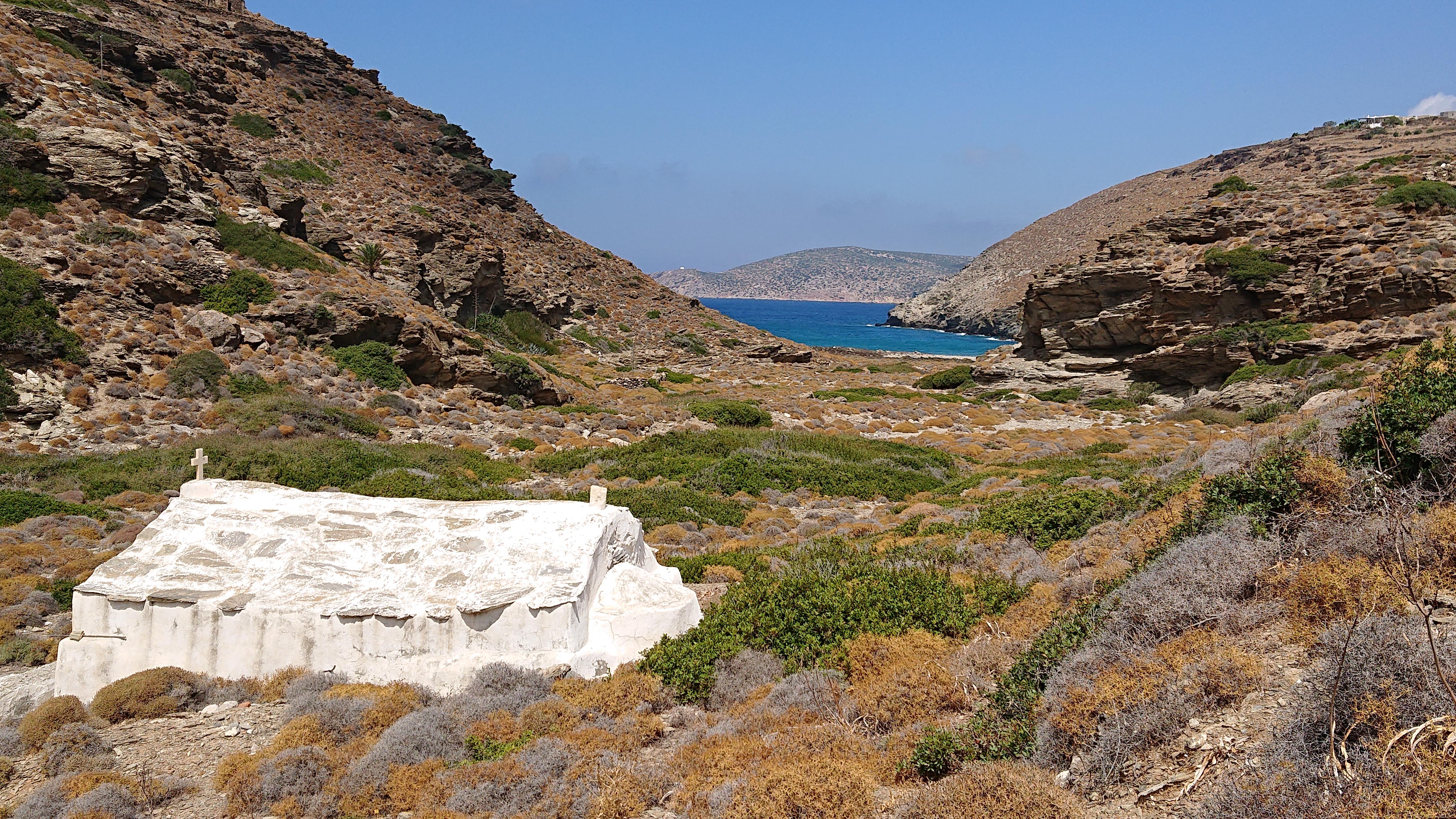 Amorgos, Agia Saranda Bay
