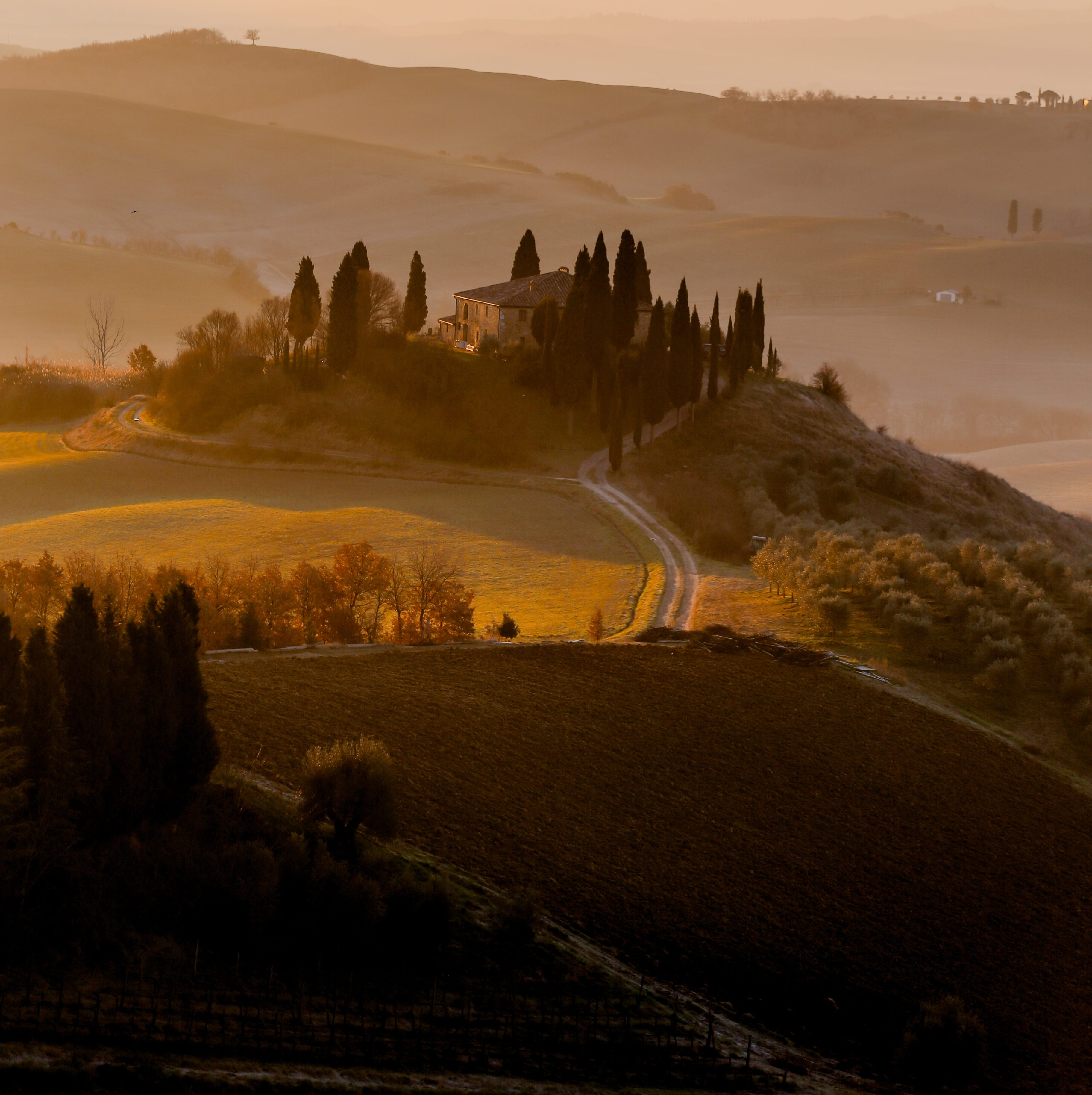 Toscana, Val D'Orcia